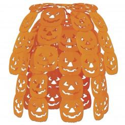 Kürbis-Hängedekoration Halloween orange