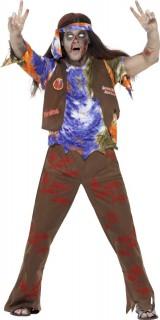 60er Zombie Hippie Halloween Kostüm bunt
