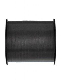 Geschenkband Verpackungsband schwarz 9,14m
