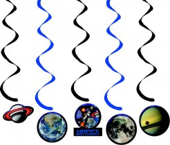 Set Dekoration Planeten