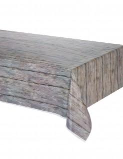 Tischdecke Holz-Print 137x274cm