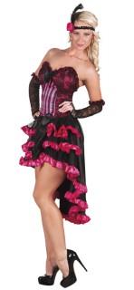 Cancan-Tänzerin - Damenkostüm in Rosa