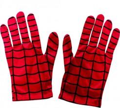 Spiderman-Handschuhe Erwachsene rot-schwarz