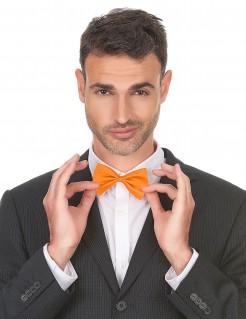 Anzugfliege Kostüm-Herrenfliege orange