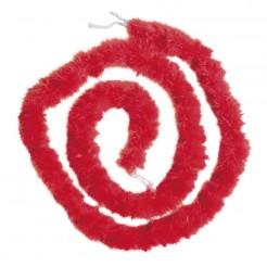 Feder-Boa 20er Jahre mit Schnüren rot