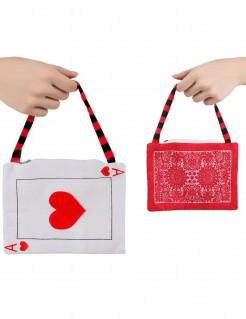 Märchen-Handtasche Kartenmotiv
