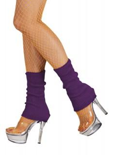 80er-Beinstulpen 2 Stück lila