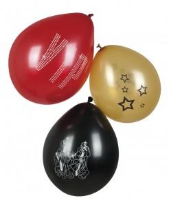 VIP-Luftballons 6 Stück