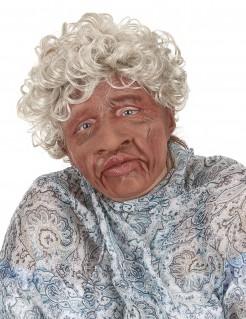 Großmutter-Latexmaske mit beweglichem Mund
