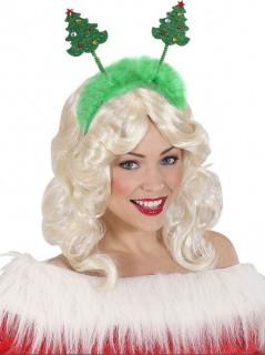 Weihnachtsbaum-Haarreif Weihnachts-Accessoire grün
