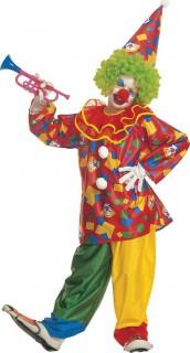 Clown-Kostüm für Kinder bunt