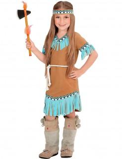 Indianer-Kleidchen für Mädchen braun