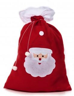 Weihnachtsmann-Geschenkesack rot-weiss