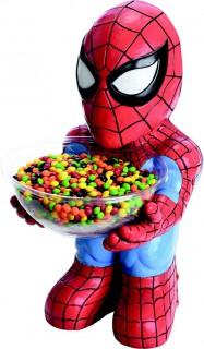 Marvel Spiderman Bonbon-Schalen-Halter rot-blau 40cm