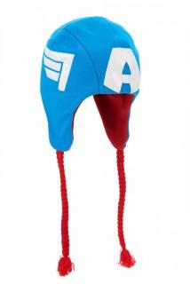 Avengers™ Captain America™ Mütze für Erwachsene blau