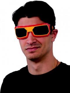 Iron Man™ Brille für Erwachsene gelb-rot