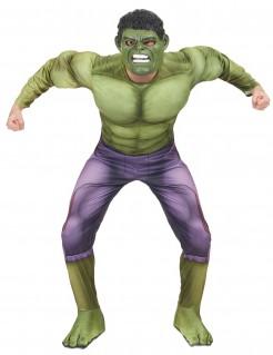 Großartiges Hulk-Kostüm für Erwachsene grün-violett