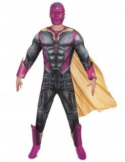 Avengers Vision-Kostüm für Erwachsene grau-lila
