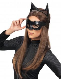 Catwoman-Schnellkostüm-Set Catwoman-Lizenzartikel 3-teilig schwarz