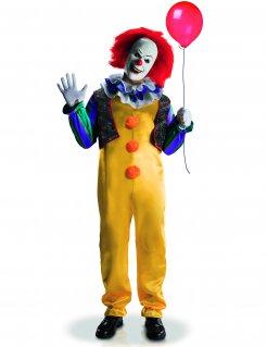 Pennywise™ Deluxe Clown-Herrenkostüm ES Lizenzartikel bunt
