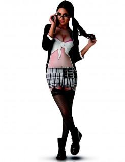 Verführerische Studentin Outfit bunt