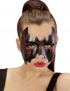 Blutige Fledermaus-Maske