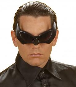 Fledermaus Brille schwarz