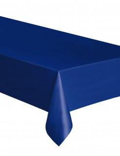 Party-Tischdecke aus Kunststoff blau 137 x 174cm