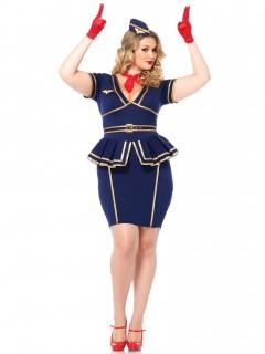 Stewardess-Damenkostüm