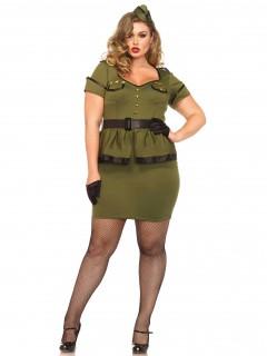 Soldatin-Damenkostüm