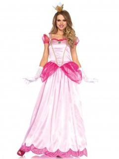 Traumhafte Märchen-Prinzessin Damenkostüm Königin rosa-pink