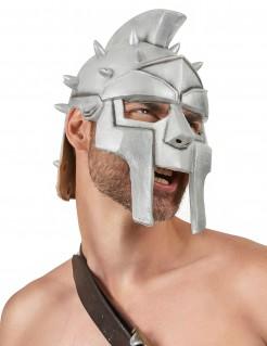Römischer Gladiatoren-Helm mit Dornen silber
