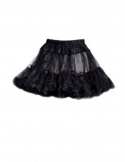 Petticoat Tüll-Rock mit Rüschen Plus Size schwarz