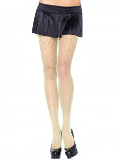 Damen-Netzstrumpfhose grün