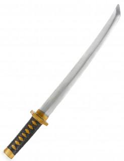 Ninja Schwert silber-schwarz-gold