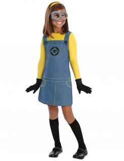 Minions™ Kostüm für Mädchen gelb-blau