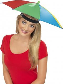 Regenschirm-Hut bunt