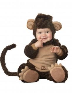 Premium Affen-Babykostüm Tier braun