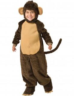 Süßes Affen-Kinderkostüm Tierkostüm für Kinder braun