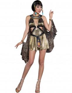 Sexy Ägypterin Damenkostüm Antike gold