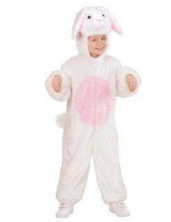 Kaninchen Kinderkostüm weiss-rosa