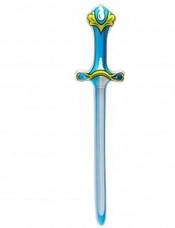 Aufblasbares Schwert blau 77cm