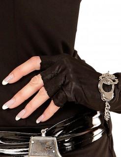 JGA Biker Armband Armschmuck Handschellen Sträfling silber
