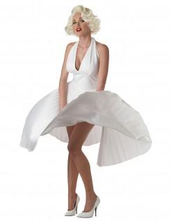 Marylin-Damenkostüm De Luxe Filmstar weiß