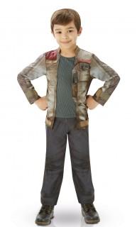 Finn Star Wars Deluxe Teenkostüm Lizenzware grau-braun