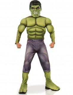 Avengers Hulk Kinderkostüm Lizenzware Deluxe grün-lila