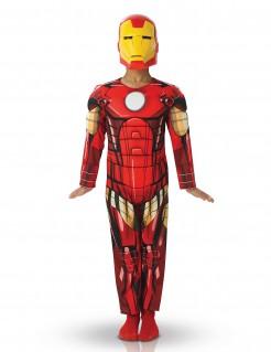 Iron Man - Avengers-Kostüm für Kinder rot