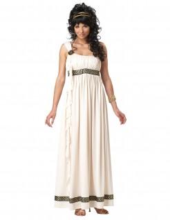 Griechische Göttin Damenkostüm weiss-beige