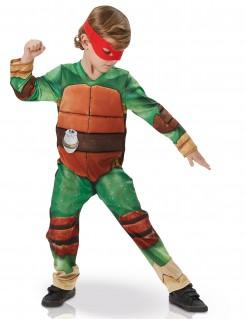 TMNT Schildkröte Kinderkostüm Lizenzware Deluxe grün-braun