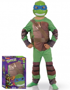 Kostüm Ninja Turtles für Kinder grün-braun